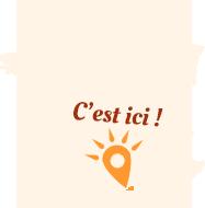 Carte de France avec un point qui situe Narbonne-plage