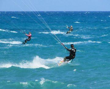 Kitesurf narbonne-plage