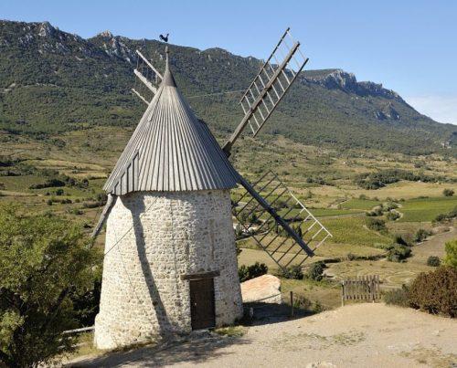 Moulin monument aude